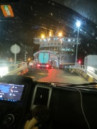 Getting on to the ferry