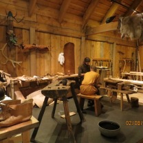 Work area, Borg Longhouse