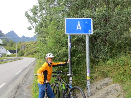 End of the Lofoten road