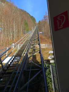 Steepest funicular ever!!